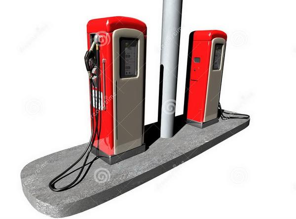 Hướng dẫn pha xăng cho động cơ 2 thì (for Gasoline Engines) GasStation01