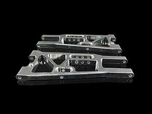 HBX Front Lower Arm CNC (Pair) #3338-P001-SR