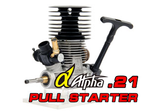 Alpha.21 (3.5cc) Buggy 1/8 engine (Pull Starter)