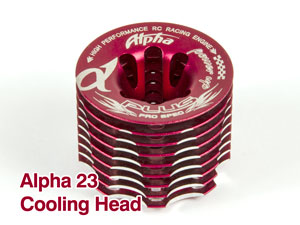 Alpha 23 Cooling Head TU021030-98 RED