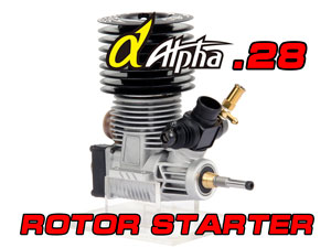 Alpha.28 Black Monster 3-Ports Rotor Starter
