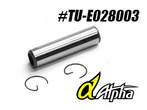 Alpha Piston Pin & Clip #TU-E021003