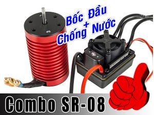BLS Combo SR-08 for 1/10 Off Road 80A