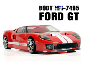 HPI 1/10 Body Ford GT (200mm) #7495