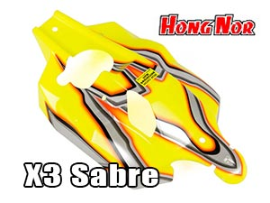 Hongnor X3 Nitro Buggy body 1/8 #X3-31B