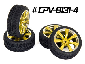 CPV 1/10 Onroad Tires 26mm #8131 (4P)