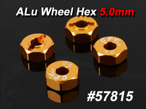CPV Alu Wheel Hex 5.0mm (4P) #57815