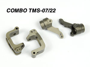 Combo Hongnor CNC Front Steering TMS-07 & TMS-22