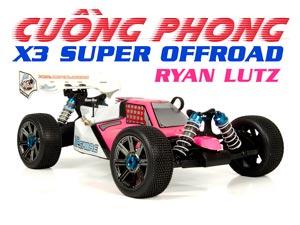 HongNor Buggy 1/8 X3 Cuồng Phong Super Offroad