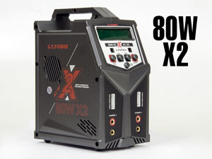 GT-Power Charger 80WX2 AC/DC Station