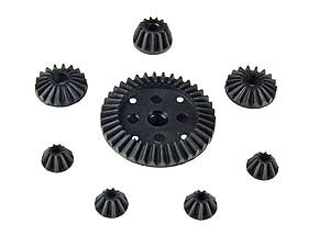 HBX 1/10 Diff Gear (Set) #6588-P008