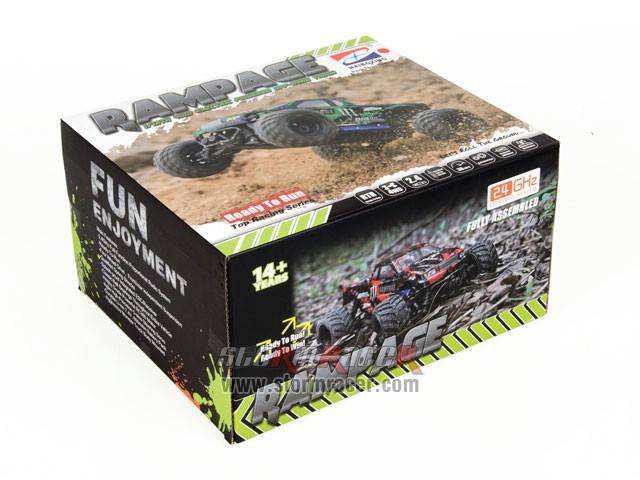 HBX RamPage 1/18 4WD Truck 001