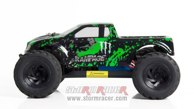 HBX RamPage 1/18 4WD Truck 009
