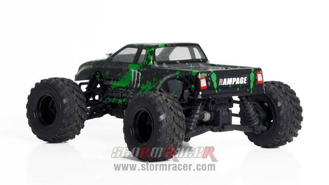 HBX RamPage 1/18 4WD Truck 012