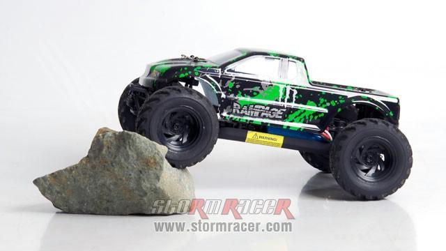 HBX RamPage 1/18 4WD Truck 017