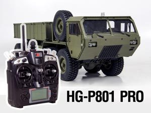 1/12 US Military Truck 8X8 HG-P801 FULL OPTION