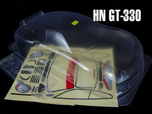 Hongnor 1/8 Body PORSCHE #GT-330 (Clear)