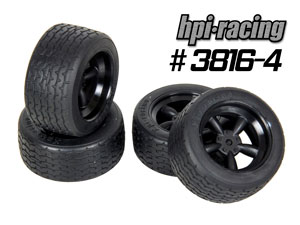 HPI 1/10 Vintage Tires Set #3816-4P (USA)