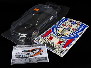 HPI 1/10 Body Ford Focus WRC (200mm) #7412