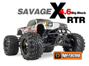 Monster Truck HPI Savage X4.6 RTR 2,4G
