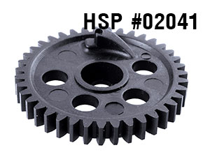 HSP 1/10 2nd Spur Gear 39T #02041