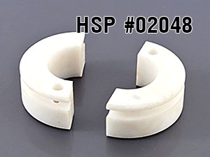 HSP 1/10 Clutch Shoes w/spring #02048