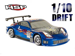 HSP Electric 1/10 DRIFT Z 350 RTR 2,4G