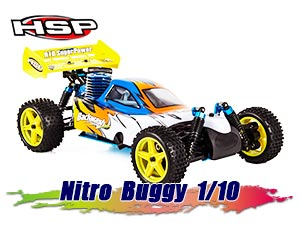 HSP 1/10 Nitro Buggy Off Road RTR 2.4G 75km/h