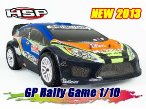 HSP Nitro Rally Game 1/10 RTR 2.4G #94177