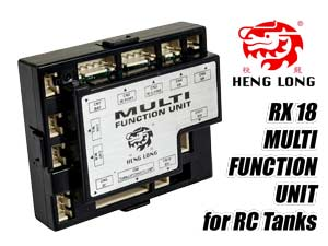 HengLong RX-18 Multi Function Unit for RC Tank