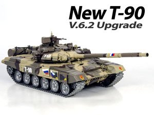 Russian 1/16 RC Tank T-90MS (New Upgrade V.6.2)