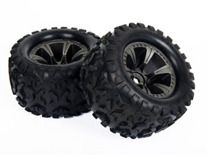 HoBao MT Truck 1/8 Tires Set BT-503A (2P)