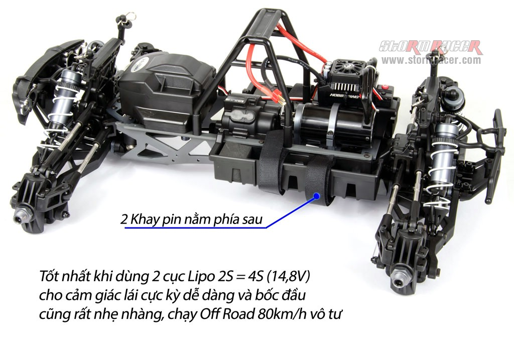 HoBao 1/8 Monster Hyper MT BLS 150A (Kit 90%) 001