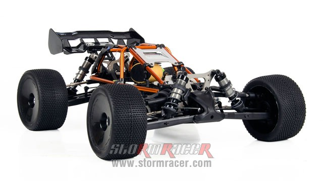 Hobao Hyper Cage Truggy Nitro 1-8 RTR HB-CT-C30RG 008