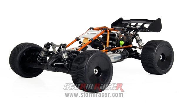 Hobao Hyper Cage Truggy Nitro 1-8 RTR HB-CT-C30RG 012