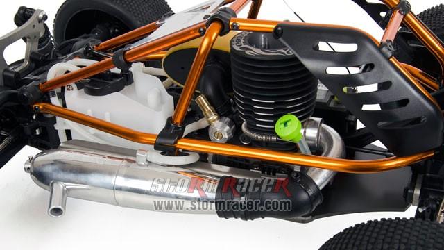 Hobao Hyper Cage Truggy Nitro 1-8 RTR HB-CT-C30RG 020