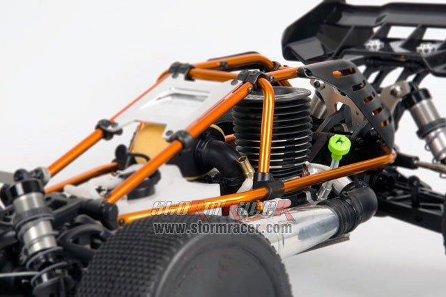 Hobao Hyper Cage Truggy Nitro 1-8 RTR HB-CT-C30RG 022