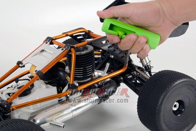 Hobao Hyper Cage Truggy Nitro 1-8 RTR HB-CT-C30RG 023