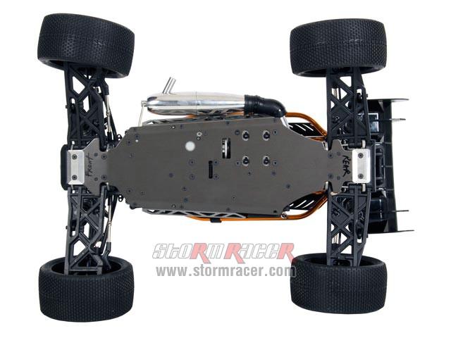 HoBao 5.0cc Hyper Cage Truggy Nitro 1-8 RTR 026