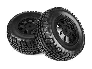HobbyPro 1/10 Rally Tires Set #H2WSR (2P)