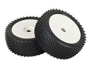 HobbyPro 1/8 Buggy Tires Set (2P)