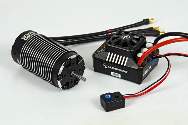 Combo HobbyWing EZRUN MAX6 160A 1650KV 009