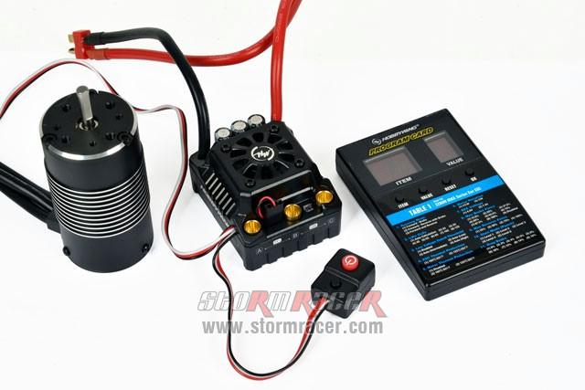 Combo Hobbywing MAX8 150A 2200KV 007