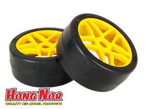 Hongnor 1/8 Slick Tires Set BT-108 (2P)