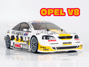 OPEL Astra V.8 Coupe 1/10 Drift OB-4D Carbon RTR