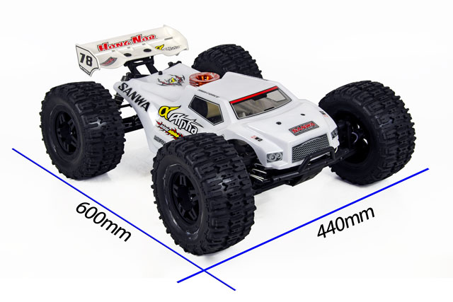 Hongnor Truggy Booster Alpha T850 + Sanwa 001