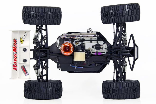 Hongnor Truggy Booster Alpha T850 + Sanwa 008