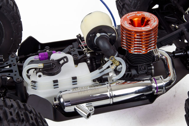 Hongnor Truggy Booster Alpha T850 + Sanwa 012