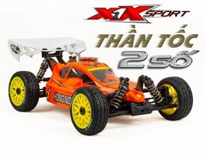 HongNor Buggy X1X 'Thần Tốc' 2 Số 2,4G 110km/h