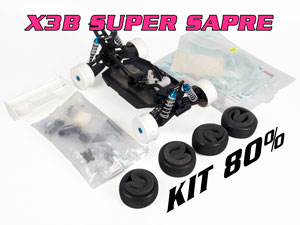 HongNor 1/8 Buggy X3 Super Nitro Kit 80%